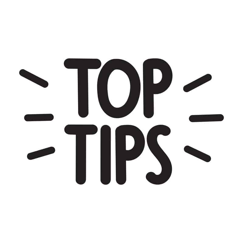 black top tips standout title